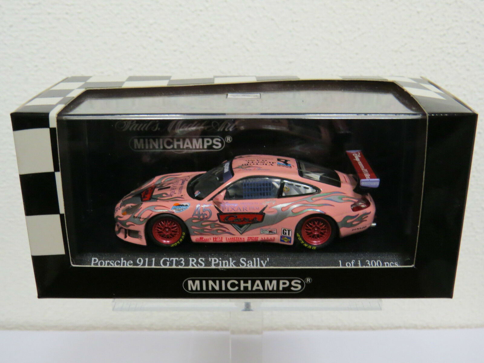 "Porsche 911 GT3RS ""Pink Sally"" Phoenix 250 2004 K. Petty G. Jeannette 400046945"