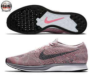 5bcd5701ef5d Nike Flyknit Racer Macaroon Pack 526628 604 Pearl Pink Grey Men Sz ...