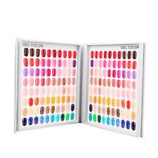 120 Colors Nail Art Gel Polish Display Book Chart Rack Holder For Nail Art Salon