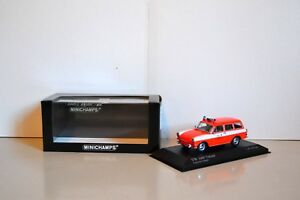 Minichamps-1-43-Volkswagen-1600-Variant-1966-Pompiers-Windeck-Ref-430-055395