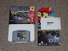 Knife Edge: Nose Gunner N64 Nintendo 64 with Box