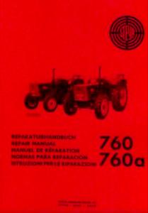 STEYR Reparaturhandbuch 760 und 760a