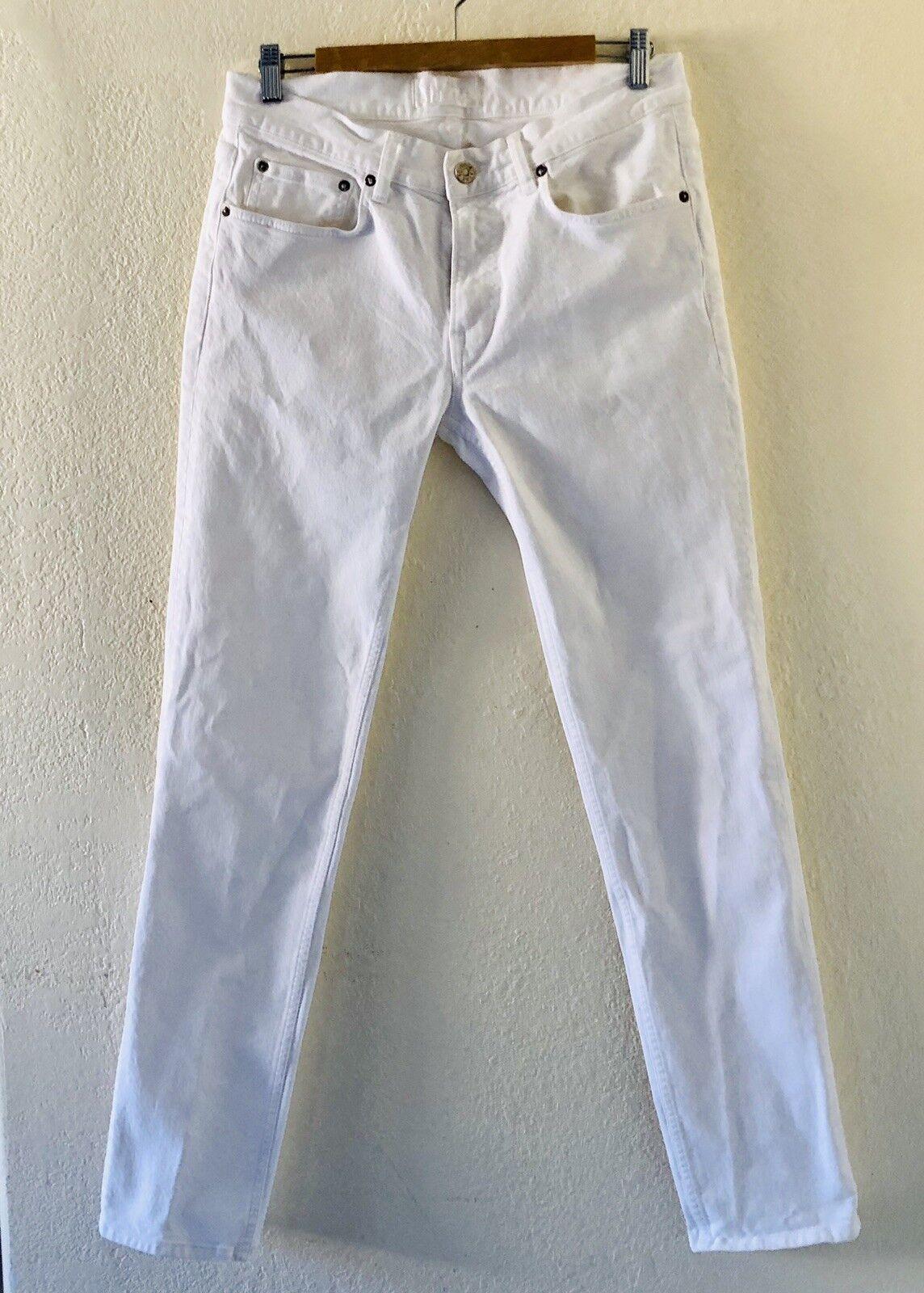 ACNE Studios White Straight Legs Jean Size 32