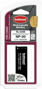 hahnel-HL-CA50-Replacement-Li-Ion-Battery-for-Casio-NP-50-Black