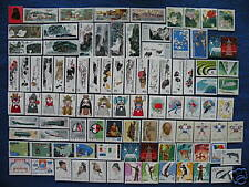 P.R.China 1980 Complete Year 24 Sets 91 Stamps MNH VF