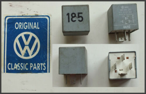 3B0911251 VW Audi No 185 Relay For Starter Check