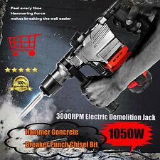 A 3000rpm 1050w Electric Demolition Jack Hammer Concrete Breaker Punch Chisel
