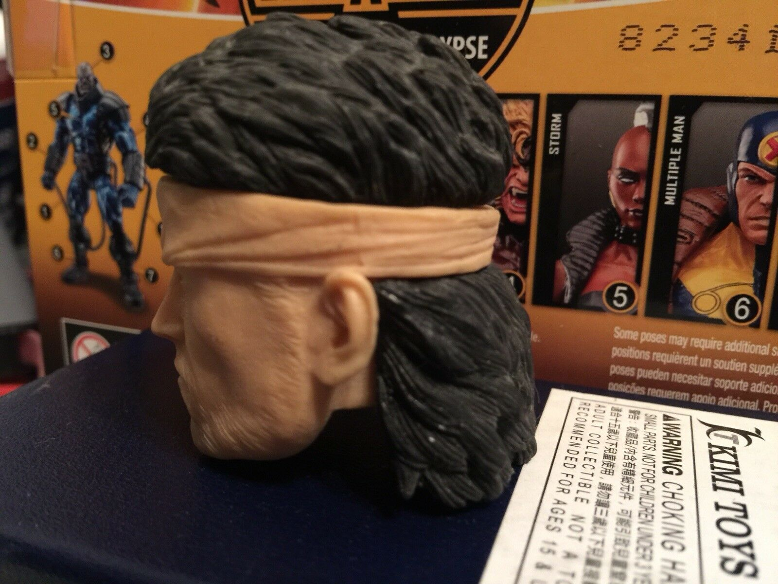 1 6 1 5 Metal Gear Solid ,Solid ,Solid ,Solid Snake Head Unpainted fa0f60