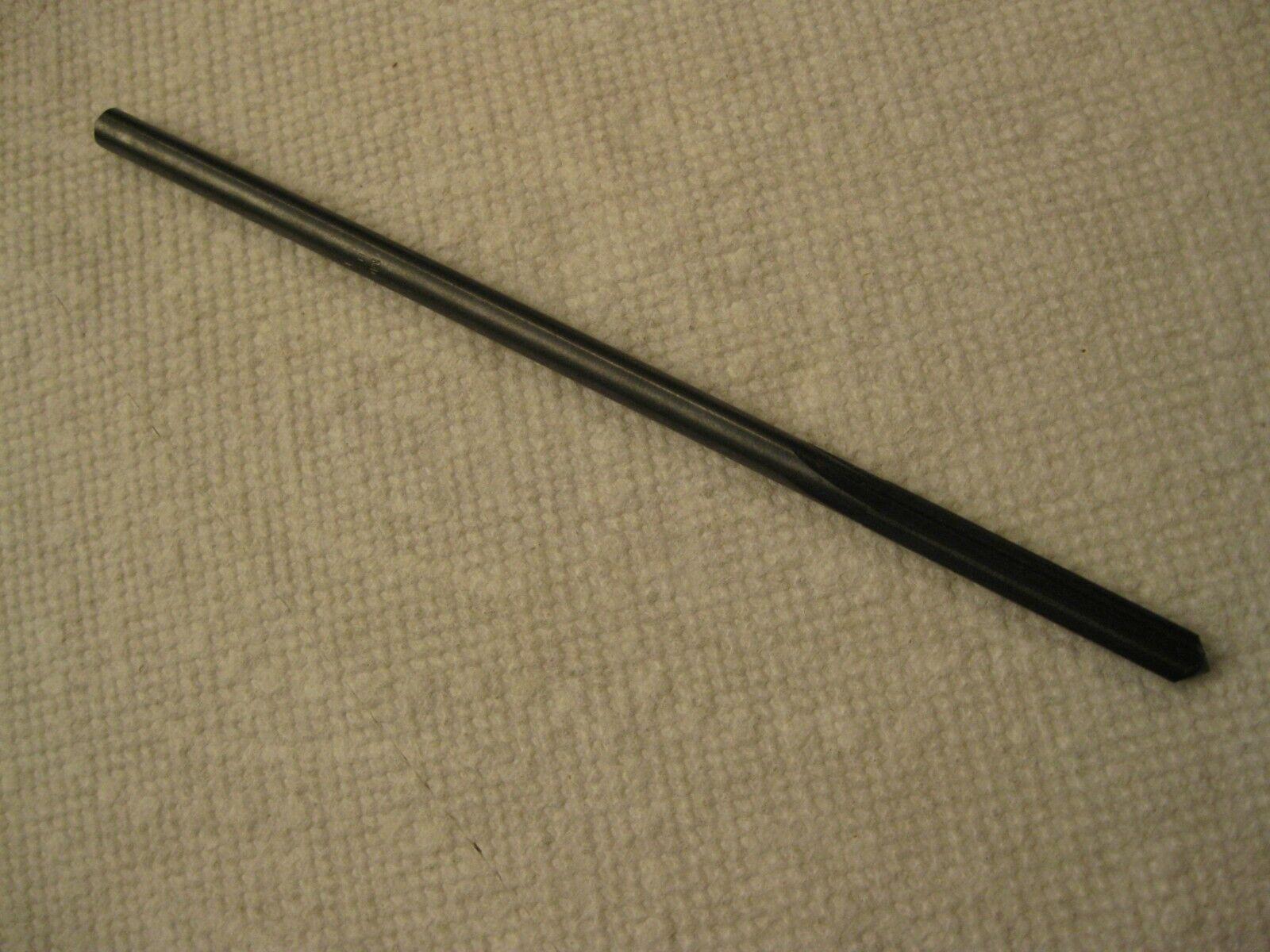 """Morse 15//16/"""" Chucking Reamer Left Hand Spiral Right Hand Cut HSS USA Made"""