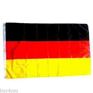 Deutschland-Stoff-Fahne-Fanartikel-Fussball-WM-EM-Flagge-Fan-Party-Europameister