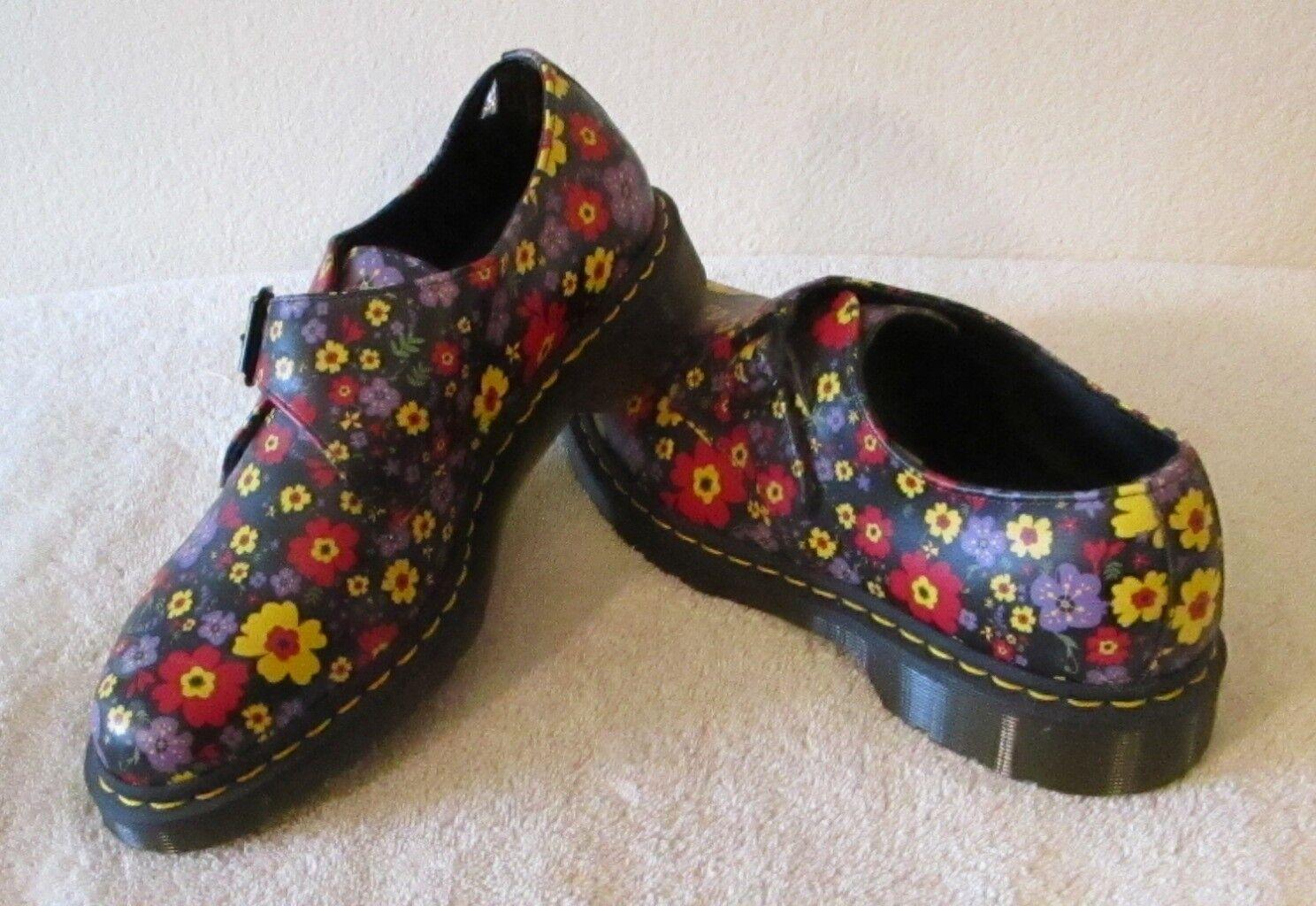 Nuevo Dr Martens Jaime monje monje monje para mujer Oxford Zapatos De Correa 11 Negro MSRP  120  producto de calidad