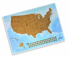 USA Scratching Map - Scratch off States as You Travel - Creative ...