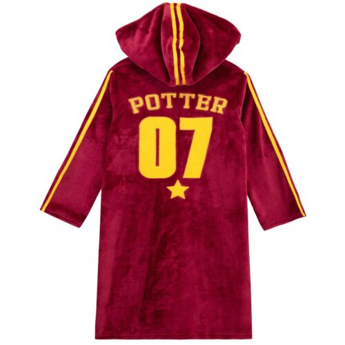 Harry Potter Dressing GownBoys Harry Potter RobeKids Hogwarts Bathrobe