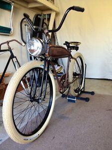 rat rod bicycle springer bike fork built in usa ebay