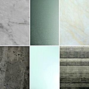 Large Bathroom Wall Panels Cladding Grey Pvc Shower Tile Effect Marble Sparkle Ebay