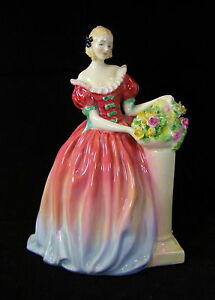 Royal-Doulton-Figura-039-Roseanna-039-Hn-1926-Hecho-en-Inglaterra
