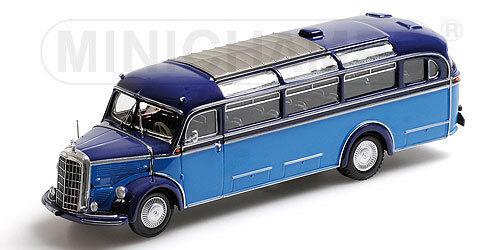 MINICHAMPS 439360011 Mercedes Benz O 3500 BUS 1950 1 43 NOUVEAU & NEUF dans sa boîte