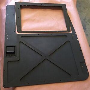 Image is loading Set-Of-4-Premium-HUMVEE-X-Door-Armor- & Set Of 4 Premium HUMVEE X-Door Armor Door Skins in blk/grn/tan ...
