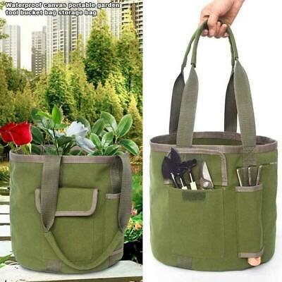 Garden Tool Bag Organizer Multi, Canvas Garden Tool Bag