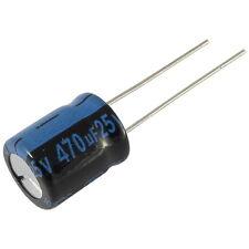 10 Elko Kondensator radial Jamicon TK 470uF 25V 105°C 073381