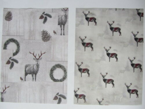 Festive Fauna Die Cut Christmas Cardmaking Kit Makes 10 Cards mini boxes