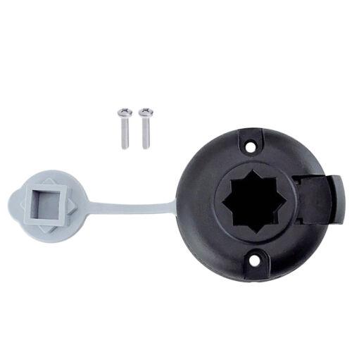 Kajak nylon angelrute halter runde form mount basis unterstützung korrosions