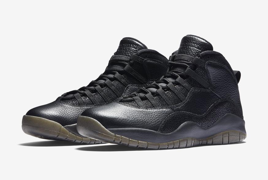 2016 Nike Air Jordan 10 X Rétro Ovo Sz 10 Noir or Métallique Drake 819955-030