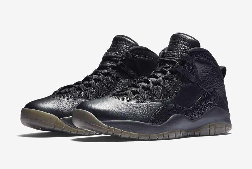 2018 Nike Air Jordan 10 X Negro Retro Ovo Sz 8 Negro X Metálico Oro Drake 819955030 de4951