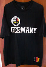 DEUTSCHER FUSSBALL-BUND VERBAND DER DDR flag lrg T shirt East Germany OG soccer