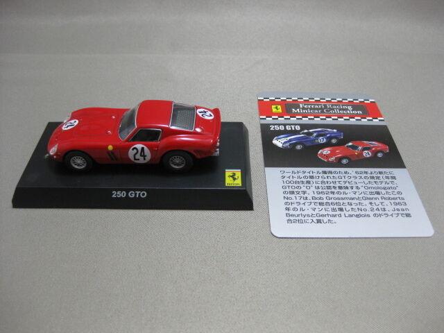 KYOSHO 1 64 Ferrari 250 GTO Ferrari Racing Minicar Collection Japan 2007