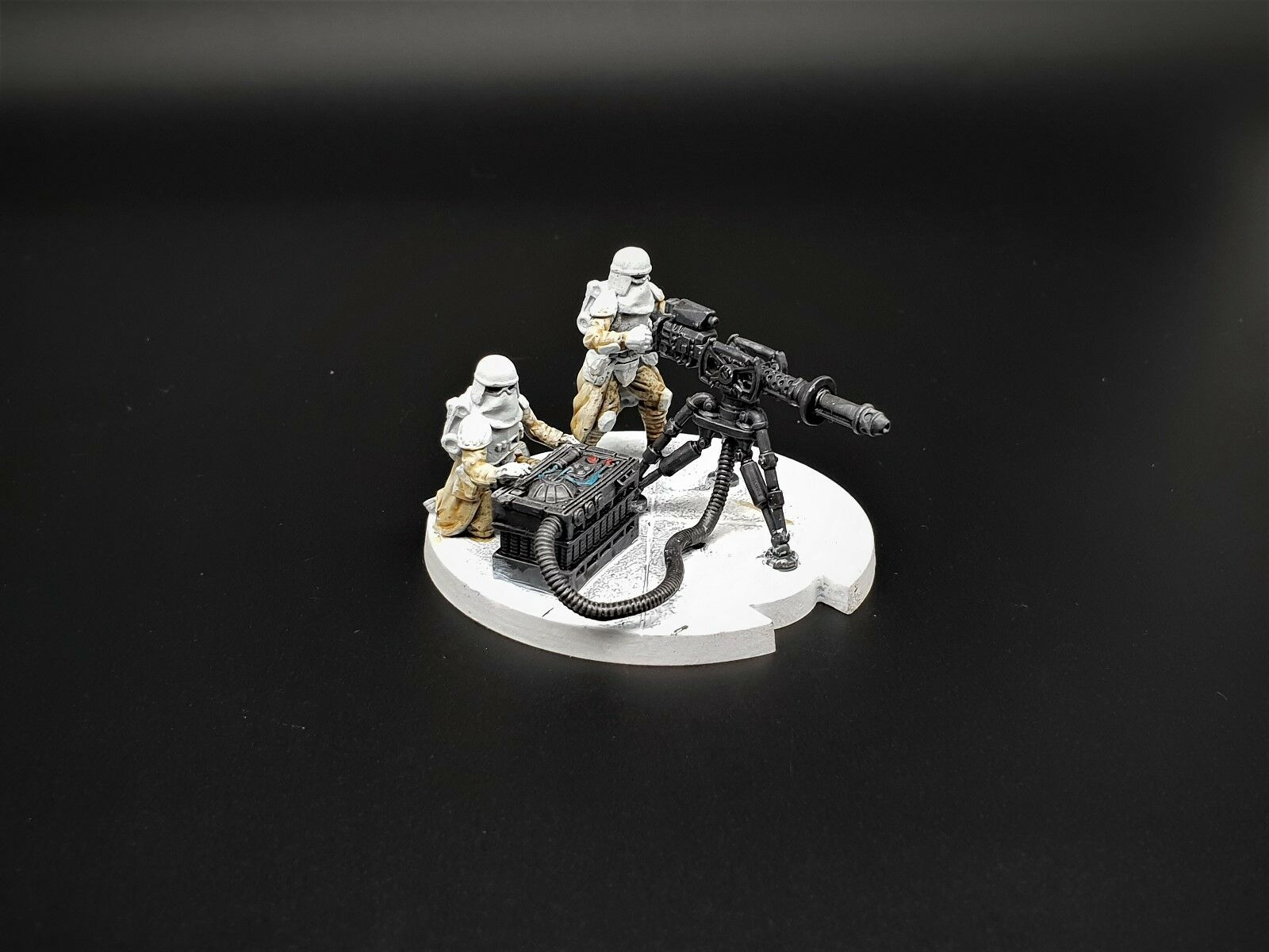 Star Wars Unit painted pro Expansion Team Blaster Heavy E