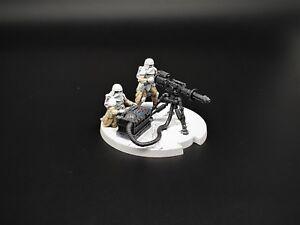 Star Wars: Legion - Expansion professionnelle de l'unité d'équipe E-Web Heavy Blaster Painted