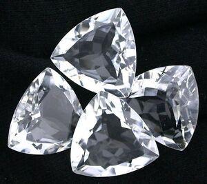 One 18mm Trillion Trilliant Triangle Crystal Quartz Gemstone Gem Stone EBS8126