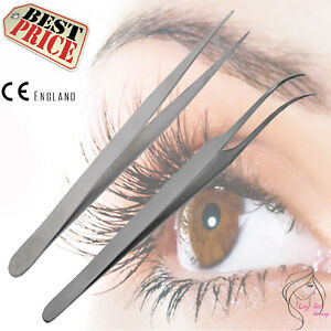 Tweezers-Swiss-Quality-Straight-Curved-For-Individual-Eyelash-Extensions