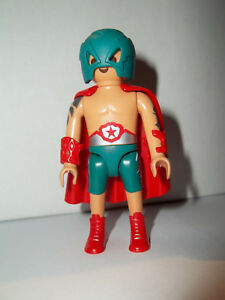 Playmobil,WRES<wbr/>TLER,LUCHA LIBRE,Series #14 Figure