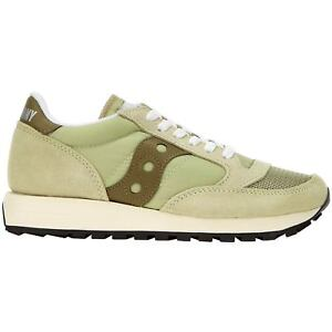 SAUCONY SCARPE SNEAKERS DONNA SHOES JAZZ ORIGINAL VINTAGE S6036832 SAUGE VERDE