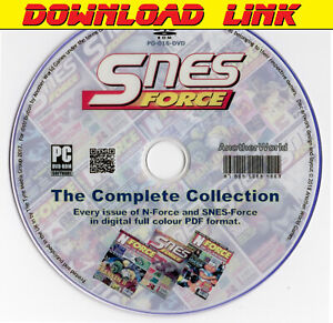 N-FORCE-SNES-FORCE-Magazine-Collection-DOWNLOAD-Nintendo-NES-SNES-Gameboy-Games