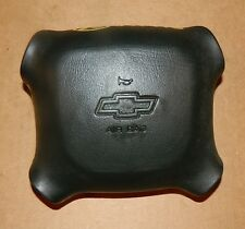 1999 CHEVY BLAZER S10/SILVERADO 1500/2500 OEM BLACK DRIVERS AIR BAG W/WARRANTY