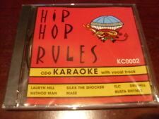 HIP HOP RULES KARAOKE DISC KC0002 CD+G RAP MULTIPLEX SEALED