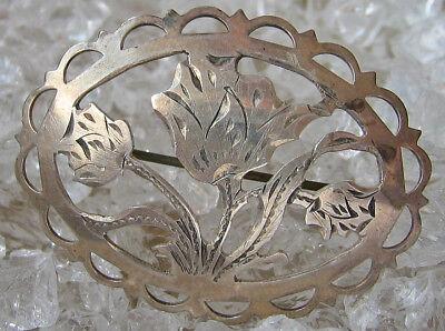 Brosche Antik Aus 835 Silber Schmuck Silver Brooch Antique ღ♥mehr Im Ebay Shopღ♥ Um Zu Helfen Fettiges Essen Zu Verdauen Broschen & Nadeln