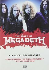 Story Of Megadeth The (2014, DVD NIEUW)
