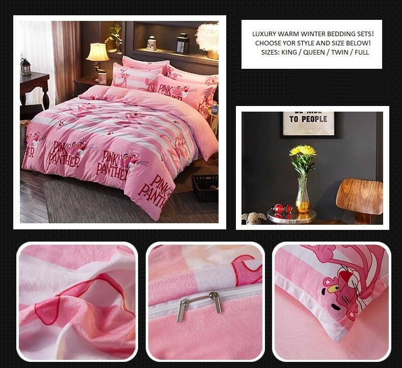 Luxury Winter Warm Duvet Cover Thick Fleece Bedding Sets twin queen king On Sale
