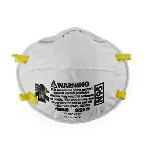 3M Atemschutzmaske Partikelschutzmaske nach N95, FFP2 Standard (2 Stück)