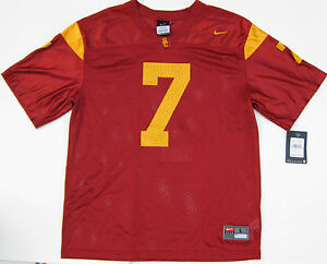 791376e36ab Image is loading New-Nike-USC-Trojans-Football-Replica-Jersey-7-