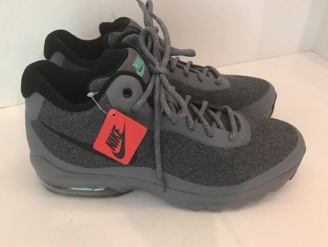 808a1b925948f Nike Air Max Invigor Mid Athletic Shoes Cool Grey Men's Size 8 858654-001