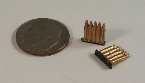 2 3R WWII Imperial Japanese Army ammo clips 1//6 Bbi Dragon Miniature gi joe DID