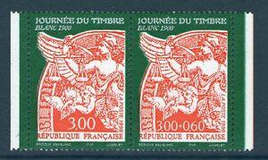 PAIRE-DETIMBRE-P3136A-NEUF-XX-LUXE-JOURNEE-DU-TIMBRE-1998-TYPE-BLANC-1900