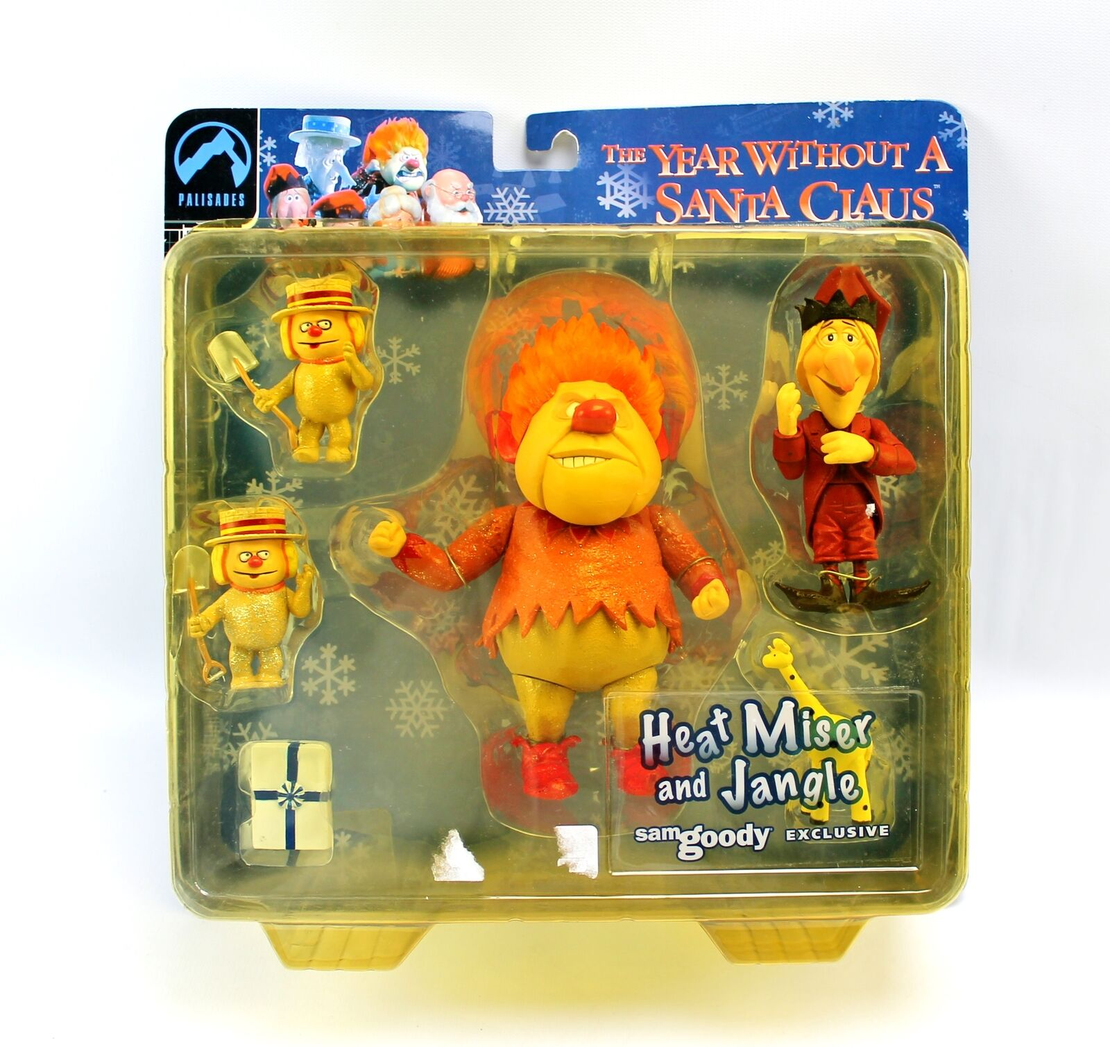 The Year Without A Santa Clause Heat Miser & Jangle Sam Goody Excl Action Figure