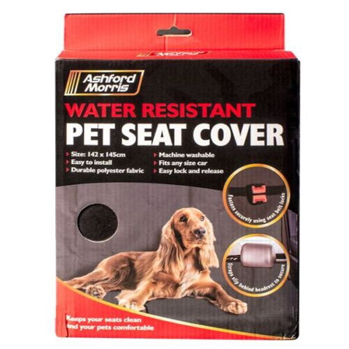 HEAVY DUTY WATER RESISTANT CAR BOOT LINER & LIP PROTECTOR DIRT/PET/DOG HAMMOCK