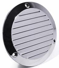 Kupplungsdeckel grooved chrom - für Harley Evo Shovel